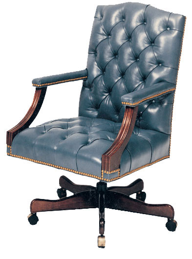 Our House GT-110-S Langthorn Tufted Gas Tilt Swivel Chair