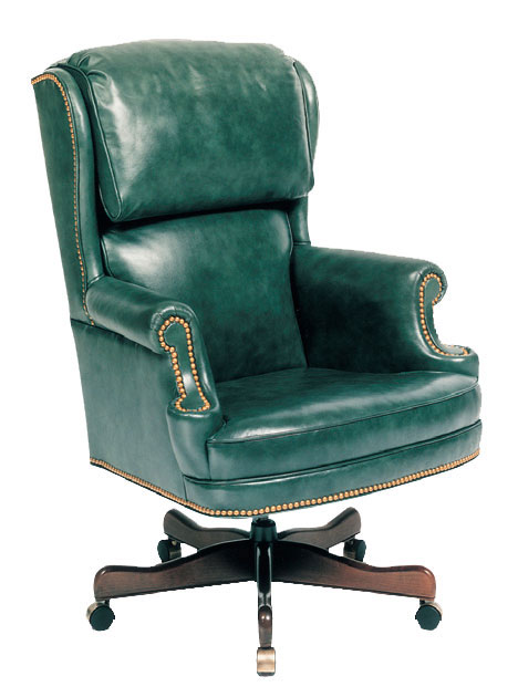 Our House GT-115-S Queen's Counsel Gas Tilt Swivel Chair
