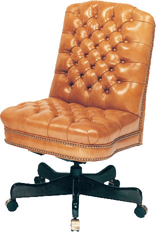 Our House GT-175-S Goose Alley Armless Tufted Gas Tilt Swivel Chair
