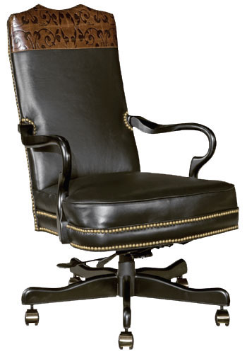 Our House GT-176-S Goose Alley Yoke Gas Tilt Swivel Chair