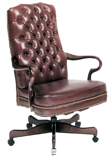 Our House GT-105-S Goose Alley Tufted Back Gas Tilt Swivel Chair