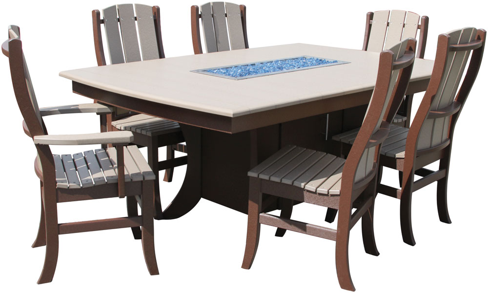 Paradise Poly Dining Table