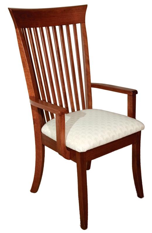 Old World Dining Arm Chair Ohio Hardwood Furniture