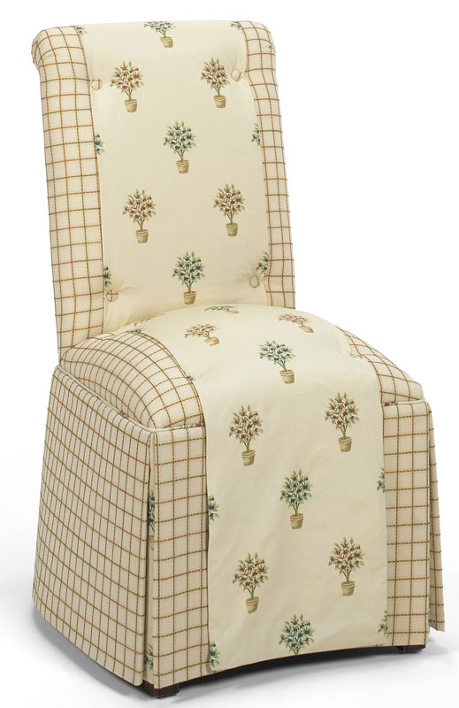 Mattie  Armless Chair 1203