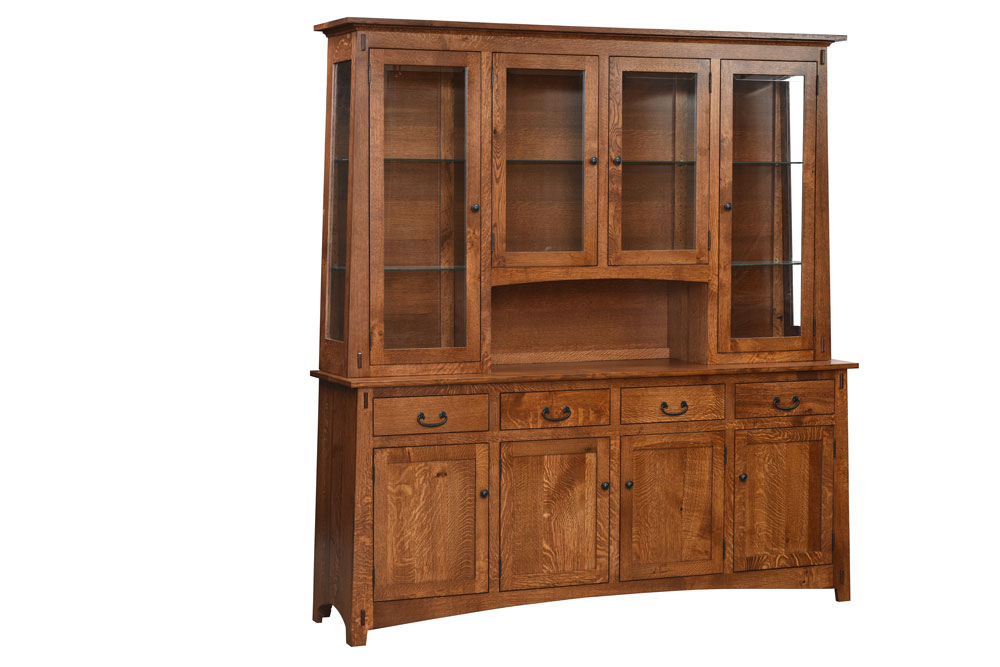 Lodge 4-Door China Hutch