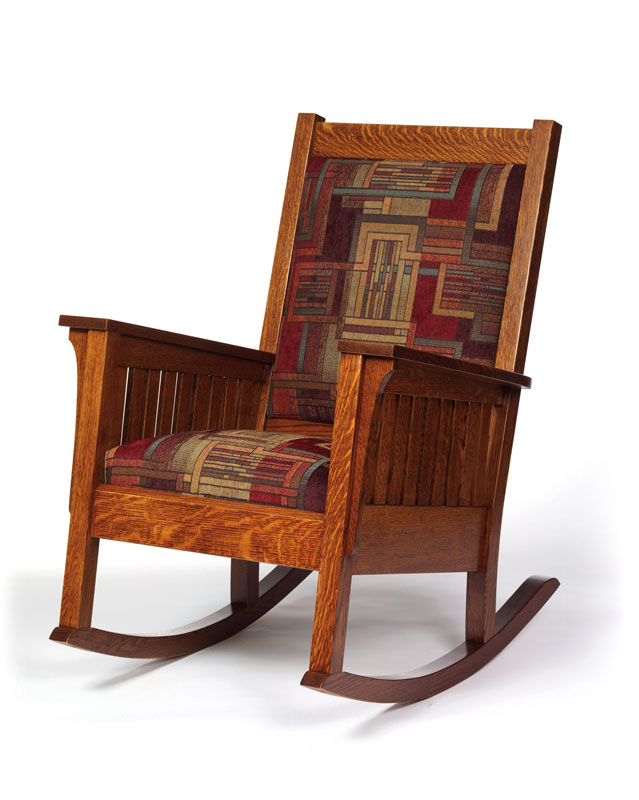 Mission Style Rocking Chair Mission Arts and Crafts Rocker in ...