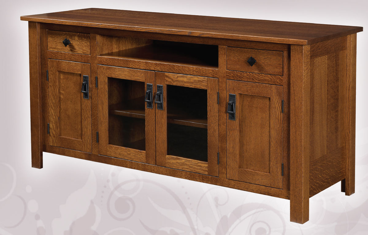 1800 Mission 60 inch TV Cabinet