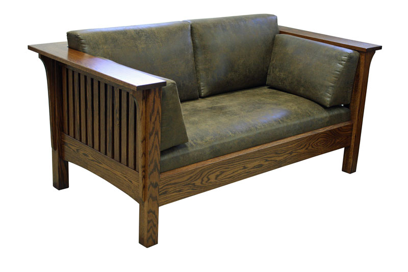 1875 Mission Loveseat
