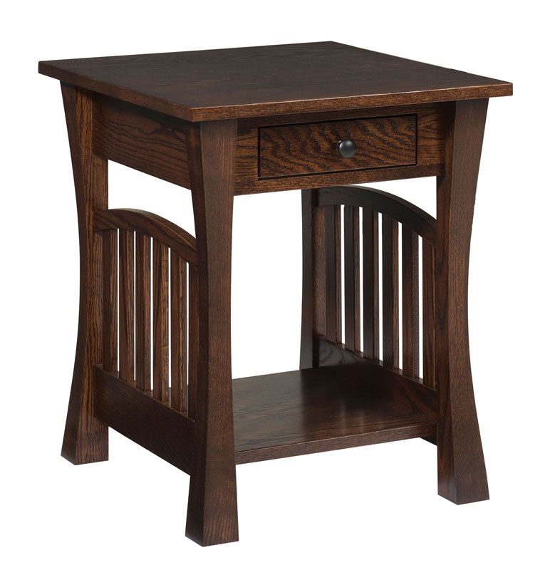 8500 Gateway End Table With Optional Drawer