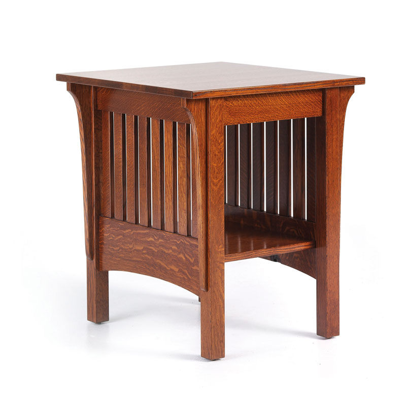 1800 Mission End Table Ohio Hardword Amp Upholstered Furniture