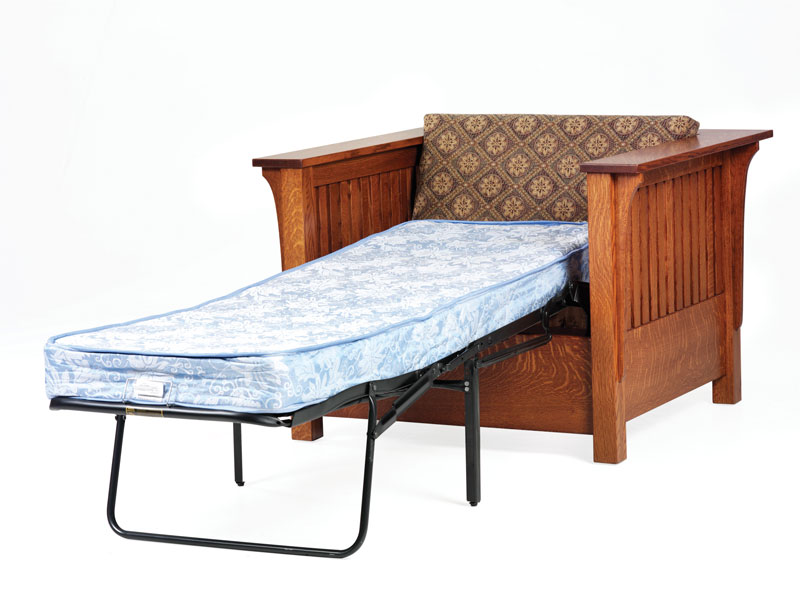 1800 Mission Chair Bed