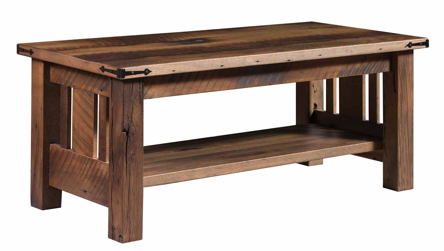 Tiverton Coffee Table In Reclaimed Wood