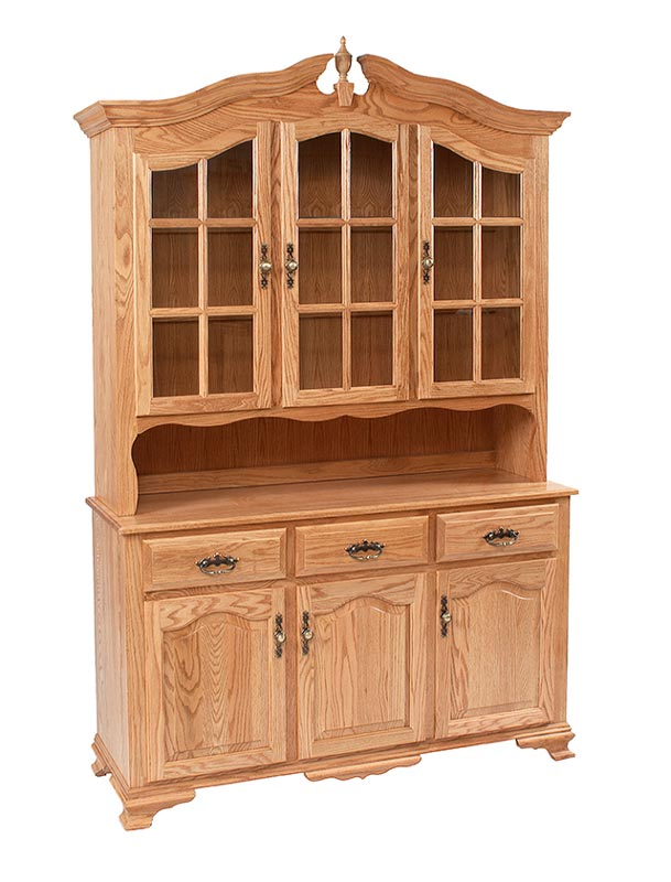 Bavarian 3 Door China Hutch