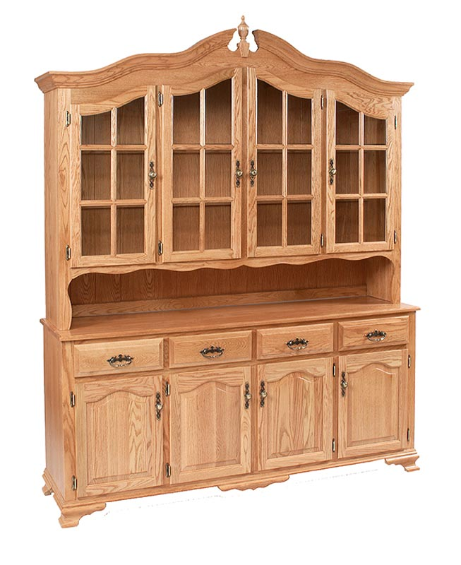 Bavarian 4 Door China Hutch