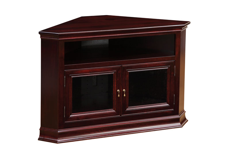 Breckenridge 32 Corner TV Stand Ohio Hardwood Furniture
