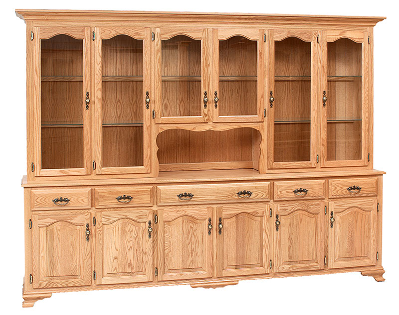 Classic Design 6 Door Hutch