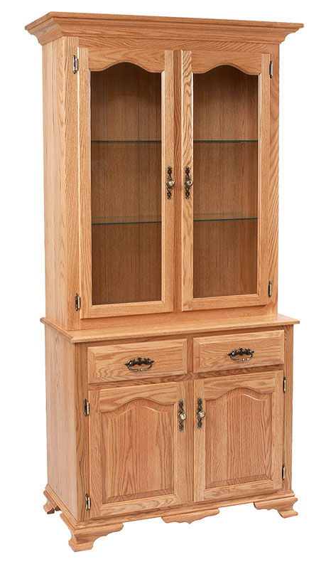 Classic Design 2 Door Hutch