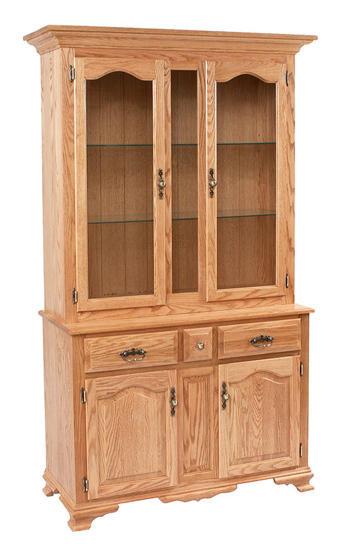 Classic Design 2 1/2 Door Hutch