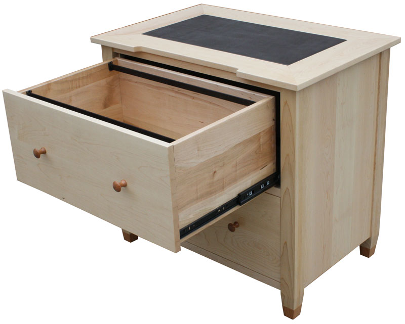 writing desk with file drawer Desk with 3-drawer file cabinet (3) compare product brookside writing desk two 120 volt plugs and 2 usb charging sports concealed under top for easy access.