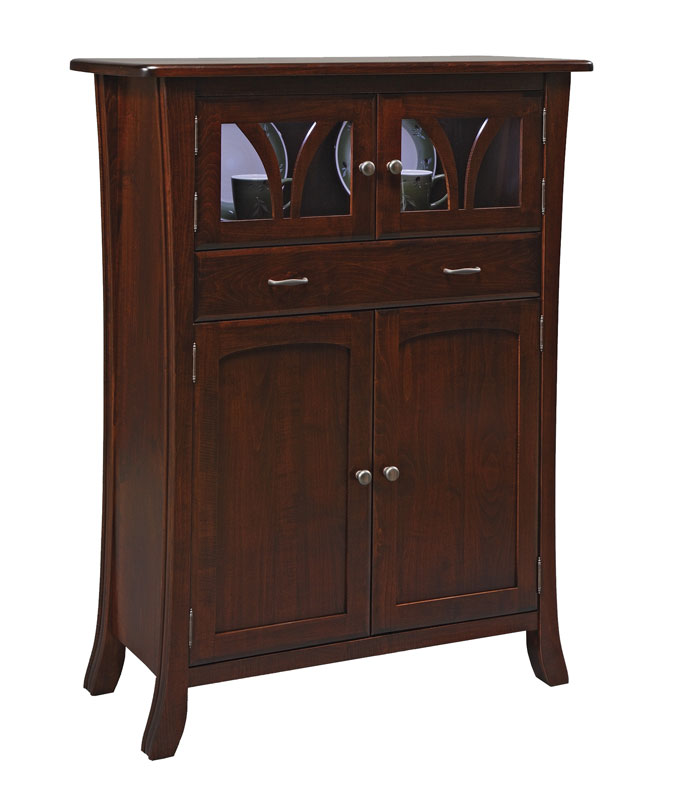 williamson hartford mini hutch ohio hardword upholstered furniture. Black Bedroom Furniture Sets. Home Design Ideas