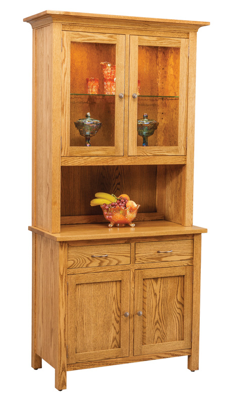 Centre Two Door China Hutch