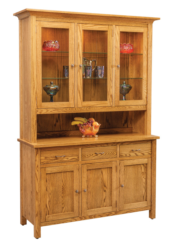 Centre Three Door China Hutch