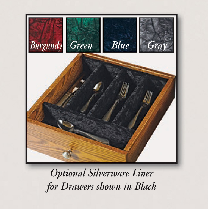 Centre Collection Silverware Drawer Options