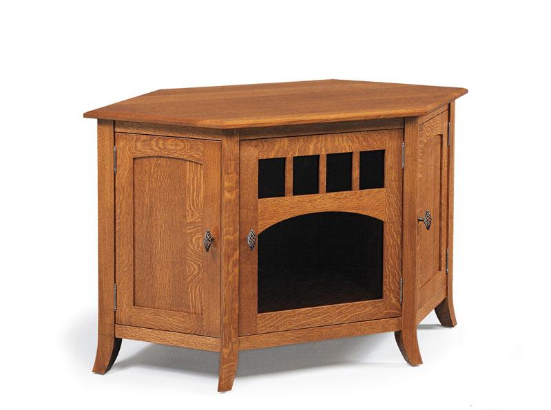 old world 35n corner or wall tv stand ohio hardword upholstered furniture. Black Bedroom Furniture Sets. Home Design Ideas