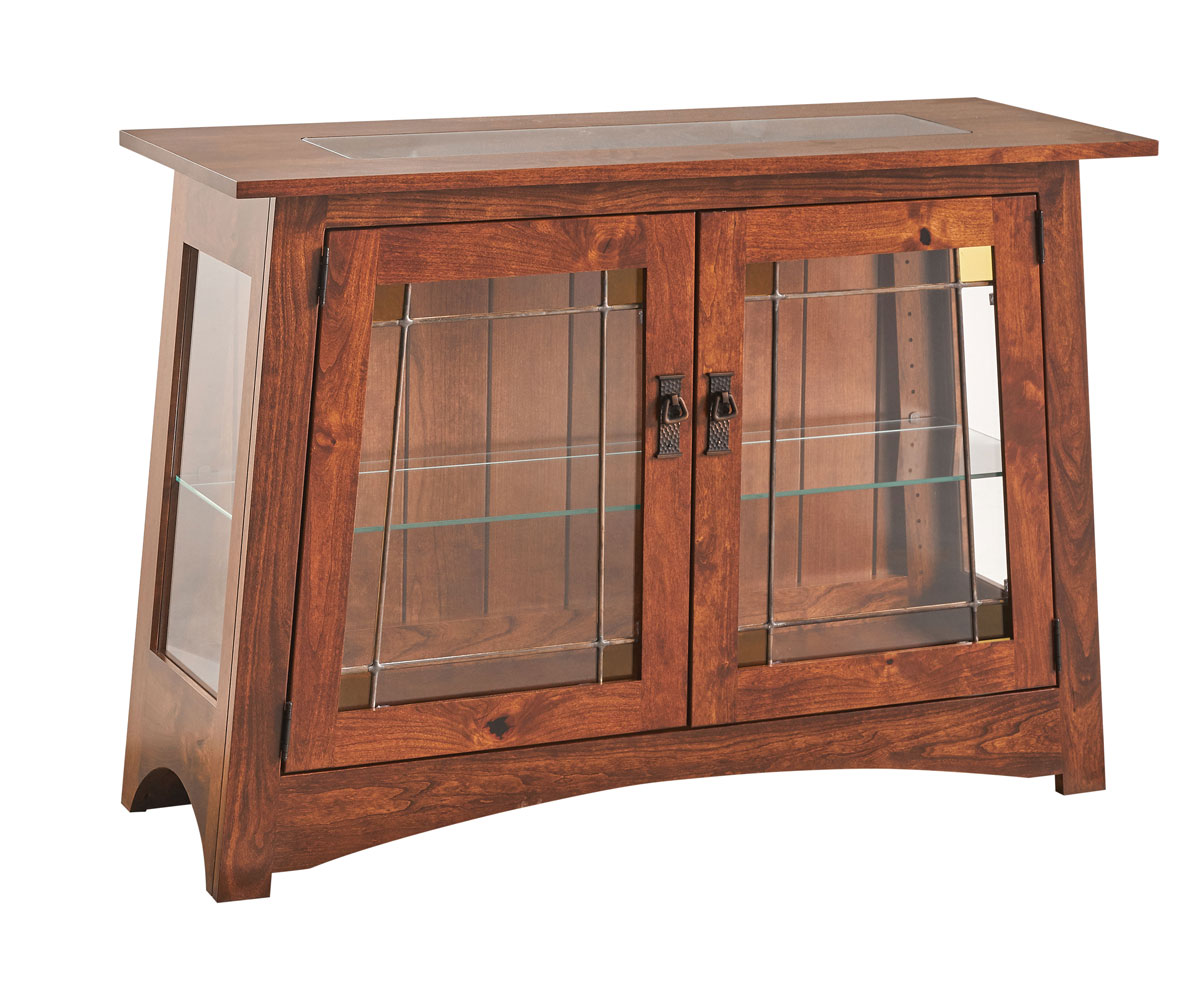 Arts & Crafts Console Curio