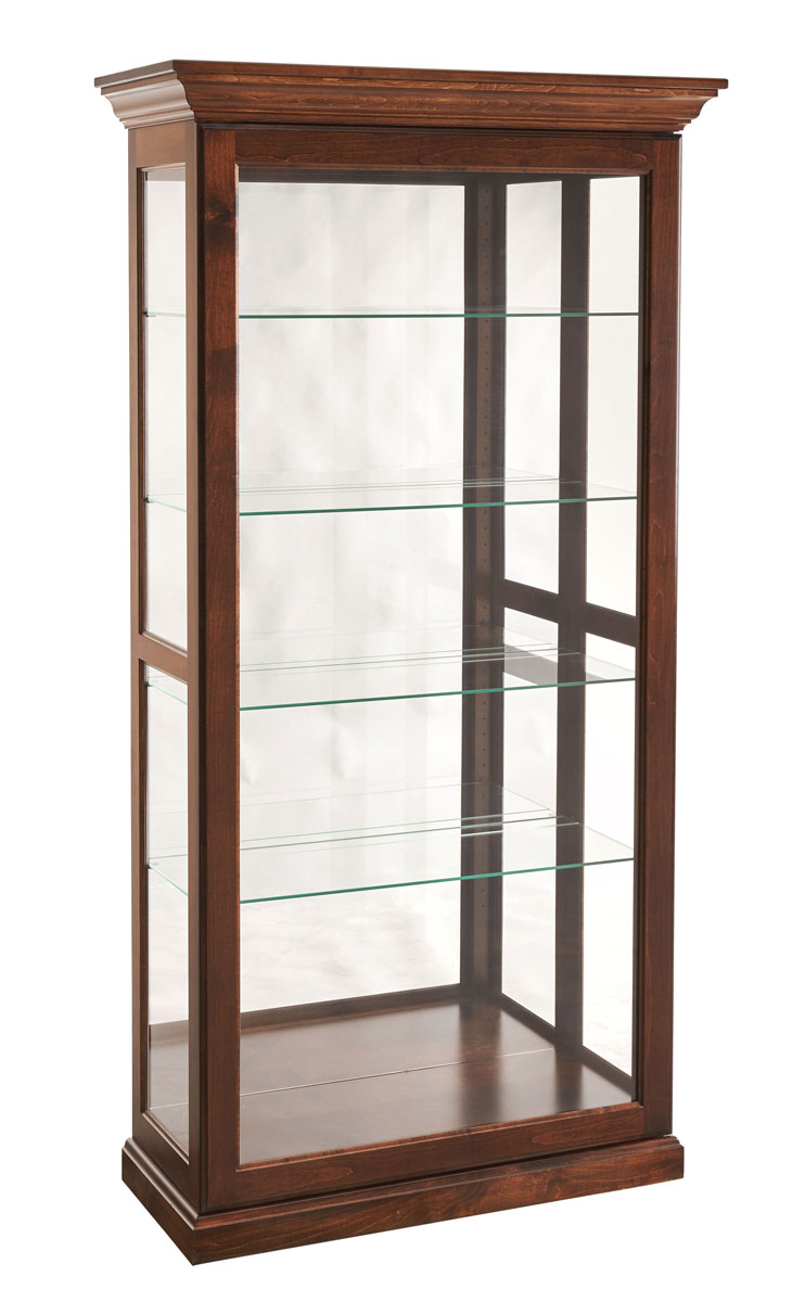 Large Picture Frame Curio with Slider