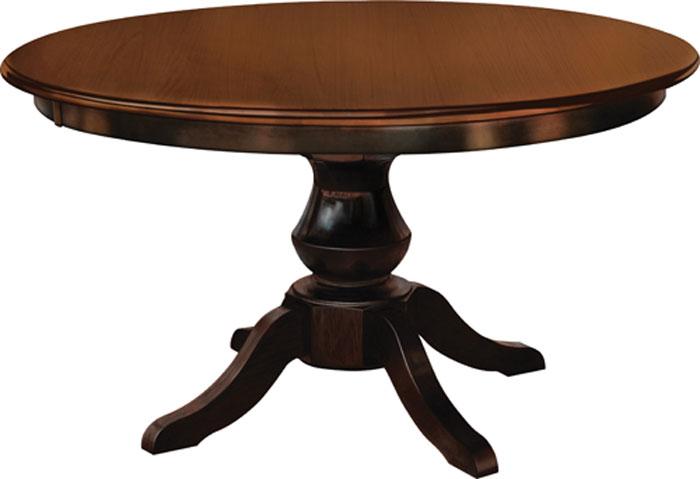 Denver Pedestal Table Ohio Hardwood Furniture