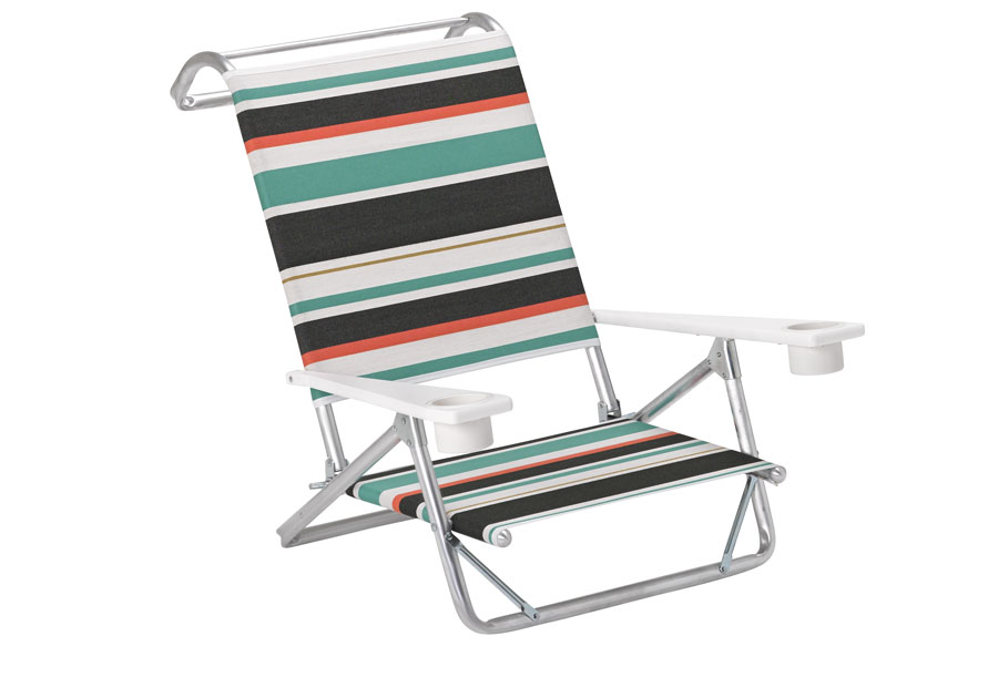 Telescope Casual Beach And Pool Original Mini Sun Chaise W/ MGP Arms W/Cup  Holders