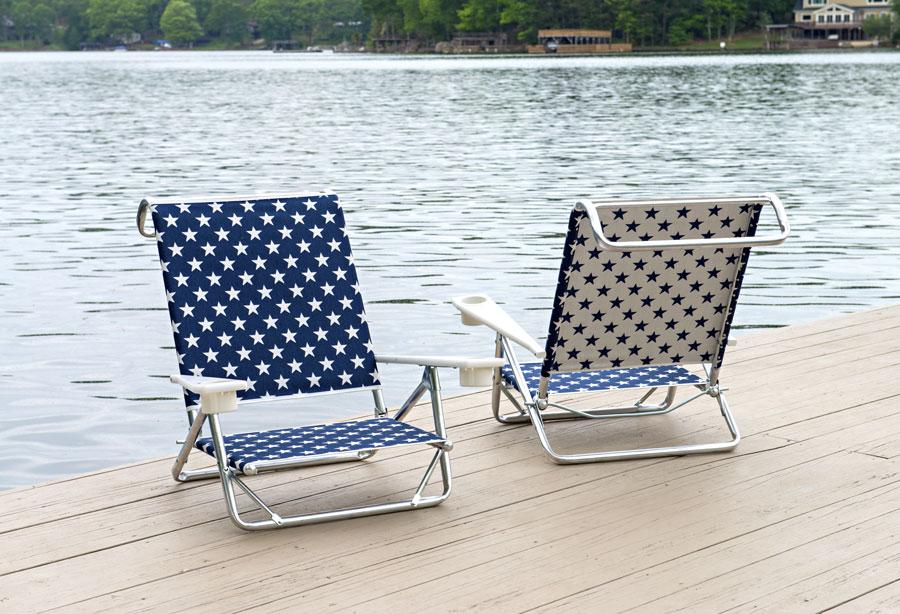 02da856eb9c8 Telescope Casual Beach and Pool Sun and Sand Chair - Ohio Hardwood ...