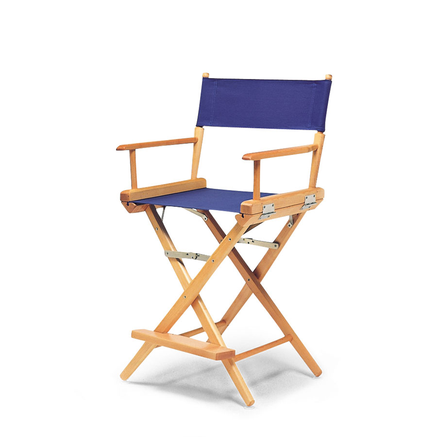 Telescope Casual World Famous Director Chair, Balcony Height Arm Chair