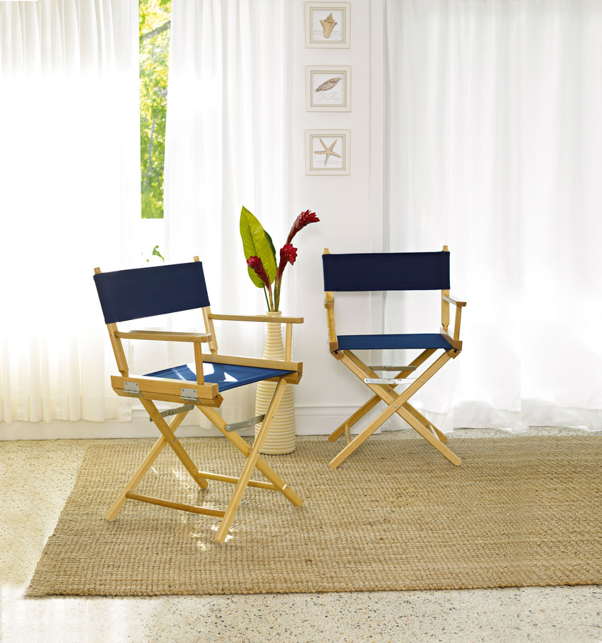 Telescope Casual World Famous Director Chair, Dining Height Arm Chair