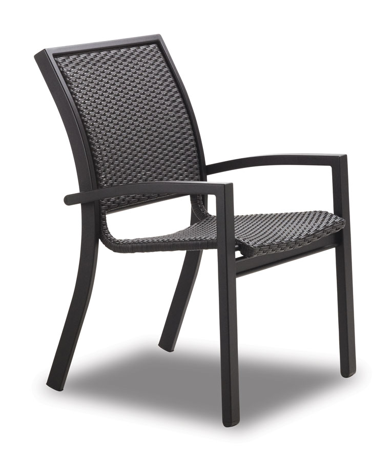 Telescope Casual Kendall Wicker Stacking Cafe Chair