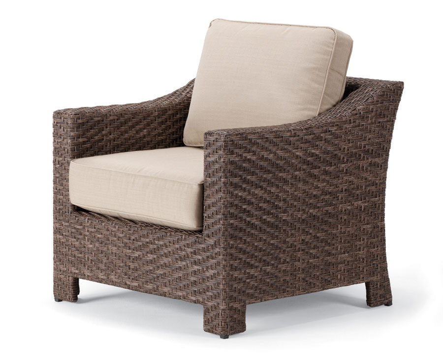 Telescope Casual Lake Shore Wicker Arm Chair
