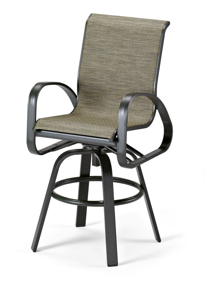 Telescope Casual Primera Sling Bar Height Swivel Arm Chair