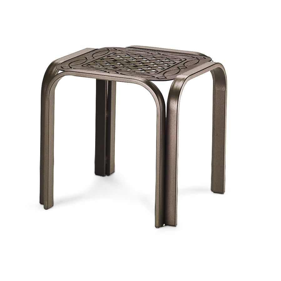 Telescope Casual 17 inch Square Cast Top End Table
