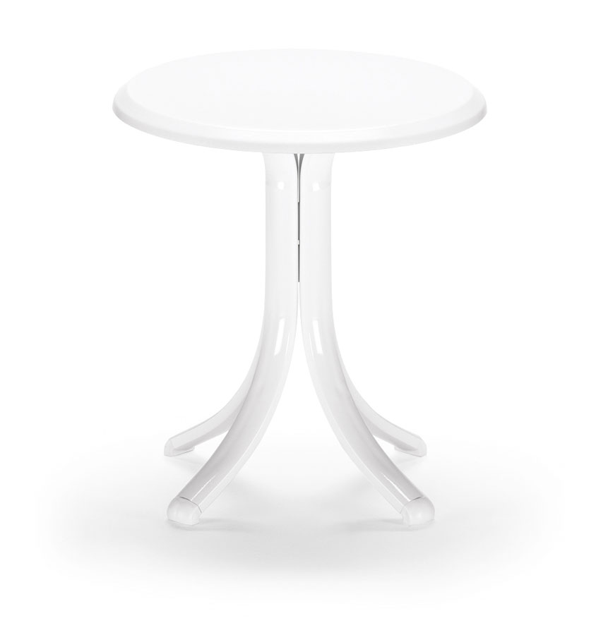 Telescope Casual 18 inch Round Werzalit Top End Table