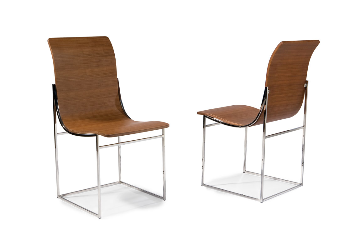 Thayer Coggin 1235-110 Moe Armless Dining Chairs by Milo Baughman