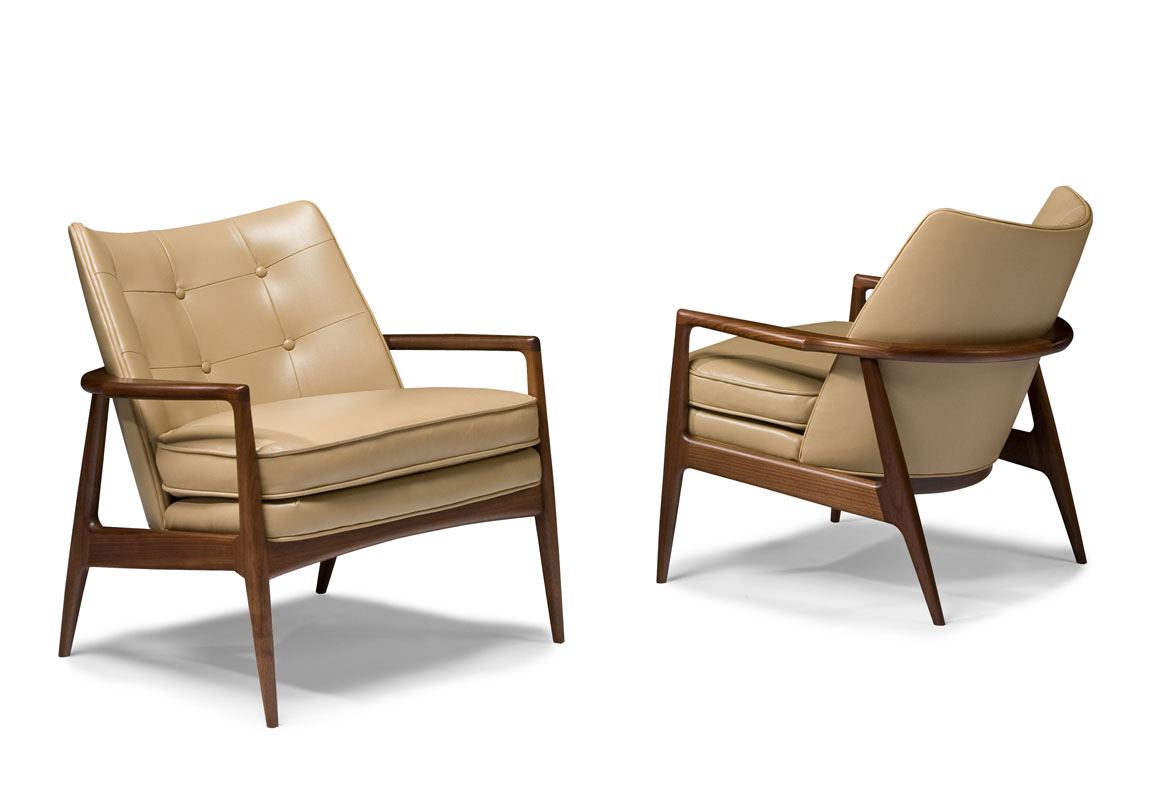 Thayer Coggin 1230 103 Draper Chair By Milo Baughman