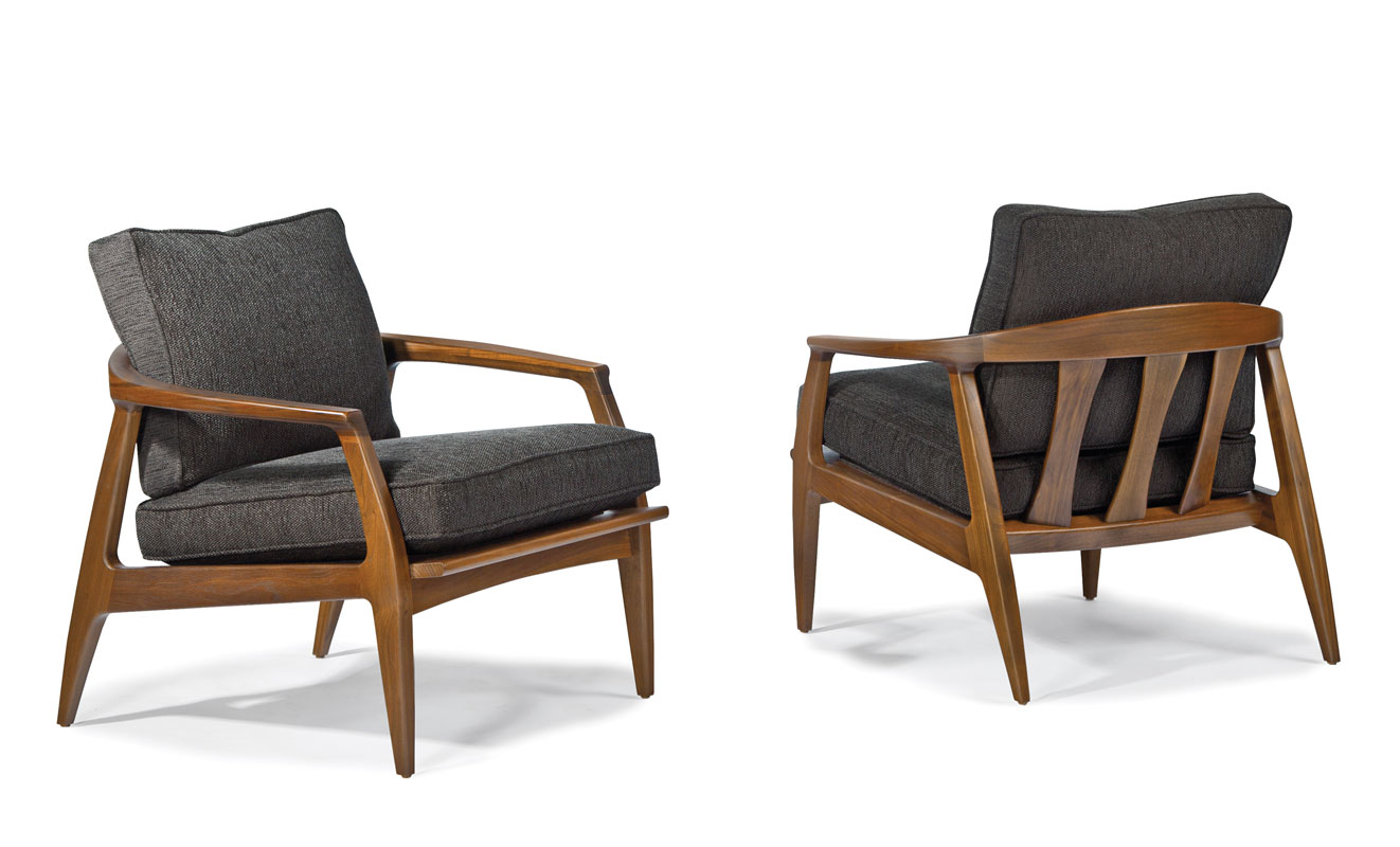miniature furniture cardboardwood routers. Milo Baughman Furniture. Thayer Coggin 1251-103 Cooper Lounge Chair By Baughman. Miniature Furniture Cardboardwood Routers C