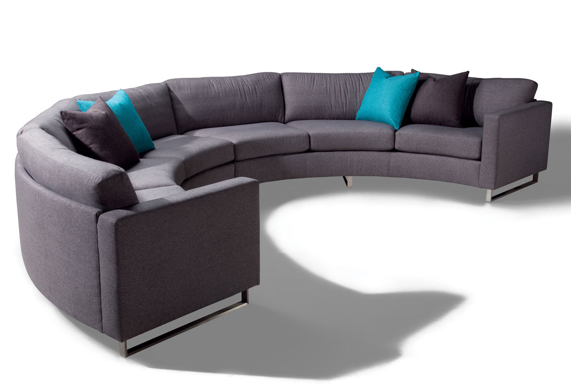 Thayer Coggin Design Classic 1224 Circle Sectional by Milo Baughman