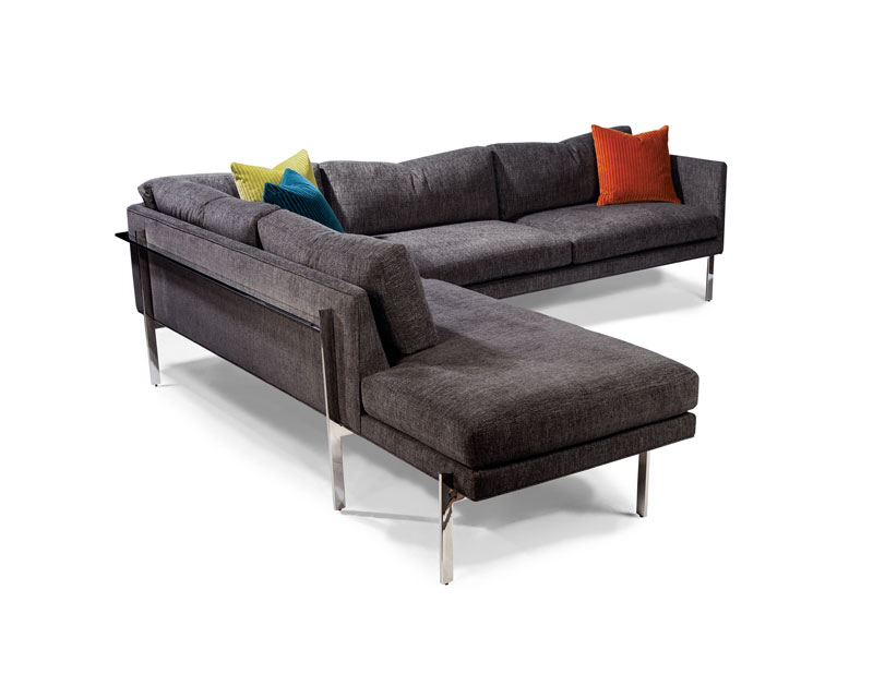 Thayer Coggin 1314 Series Drop In Sectional in Stainless Steel