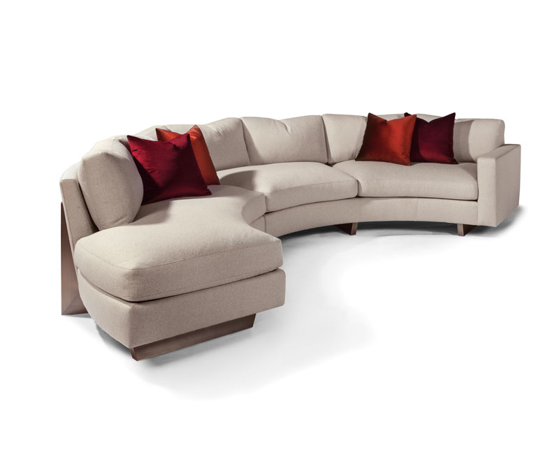 Thayer Coggin 1317 Toasted Clip Series Sectional