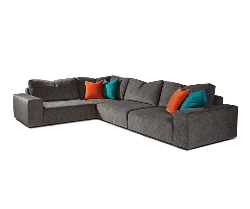 Thayer Coggin 1327 Back It Up Series Sectional