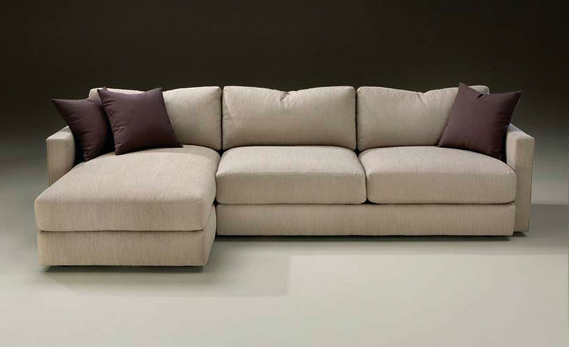 Thayer Coggin 1154 Mr. Big Sectional. Throw Pillows Shown Are Optional.