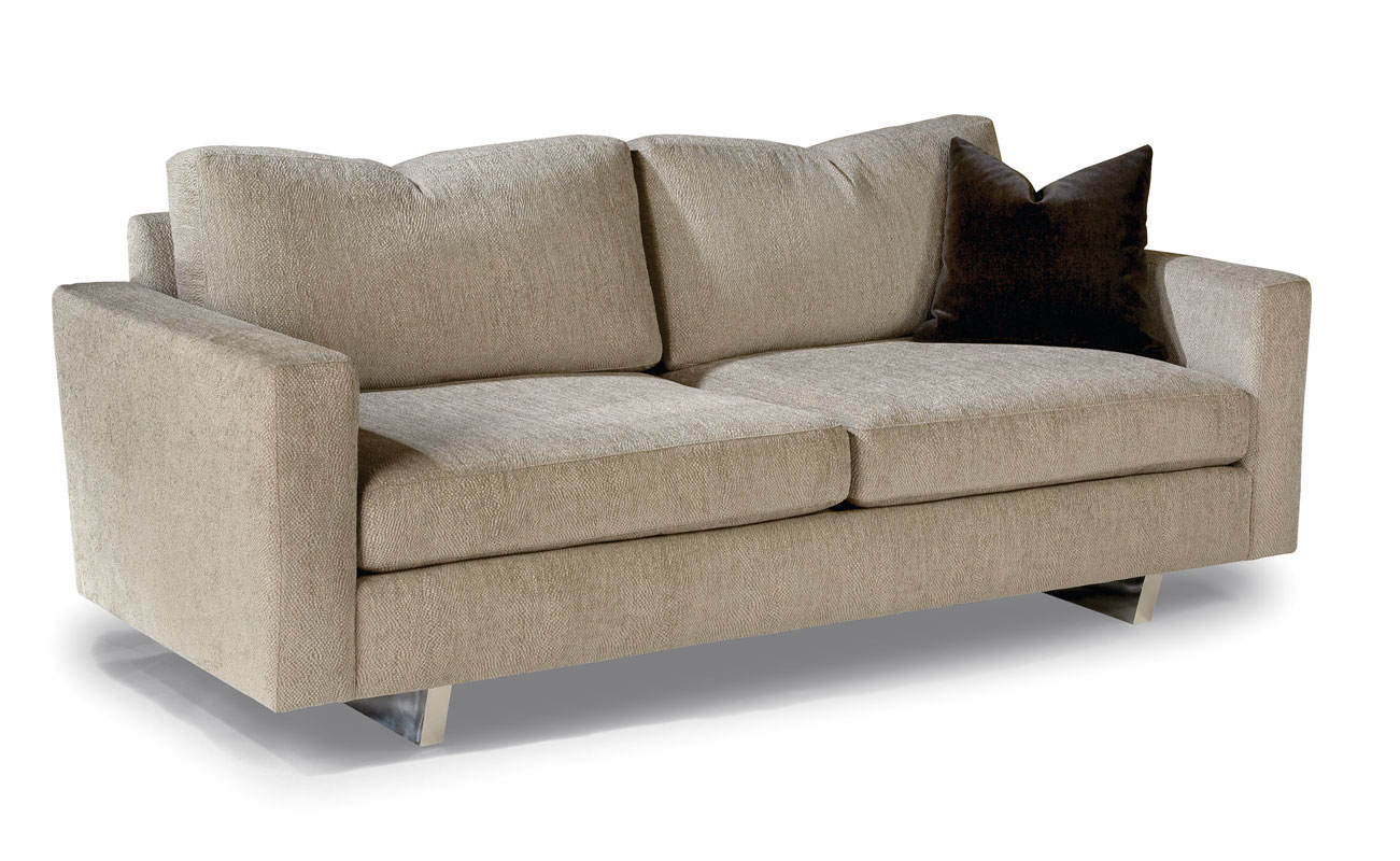 Thayer Coggin 1217 313 Cool Clip Sofa. Throw Pillow Shown Is Optional.