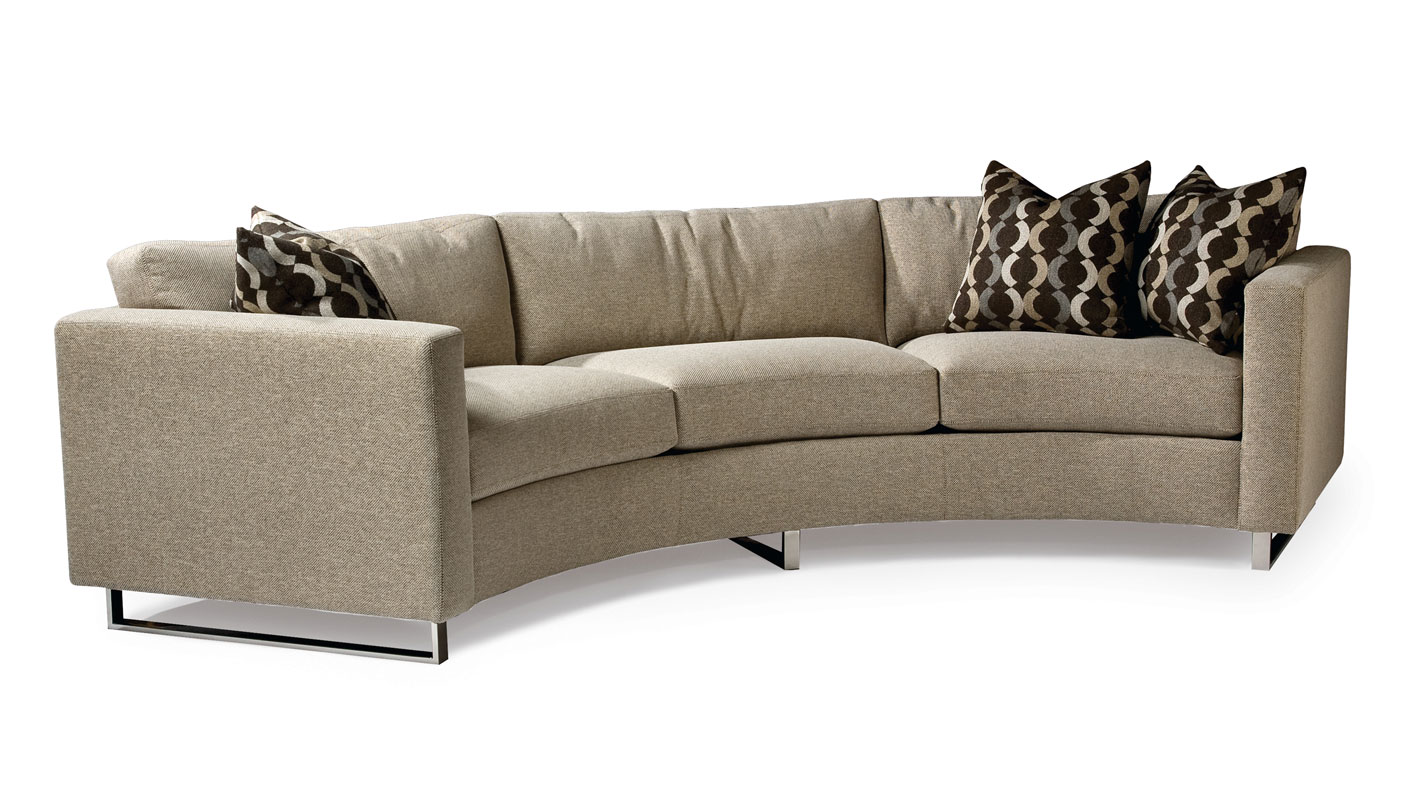 Thayer Coggin 1224303 Circle Sofa By Milo Baughman Ohio Hardwood